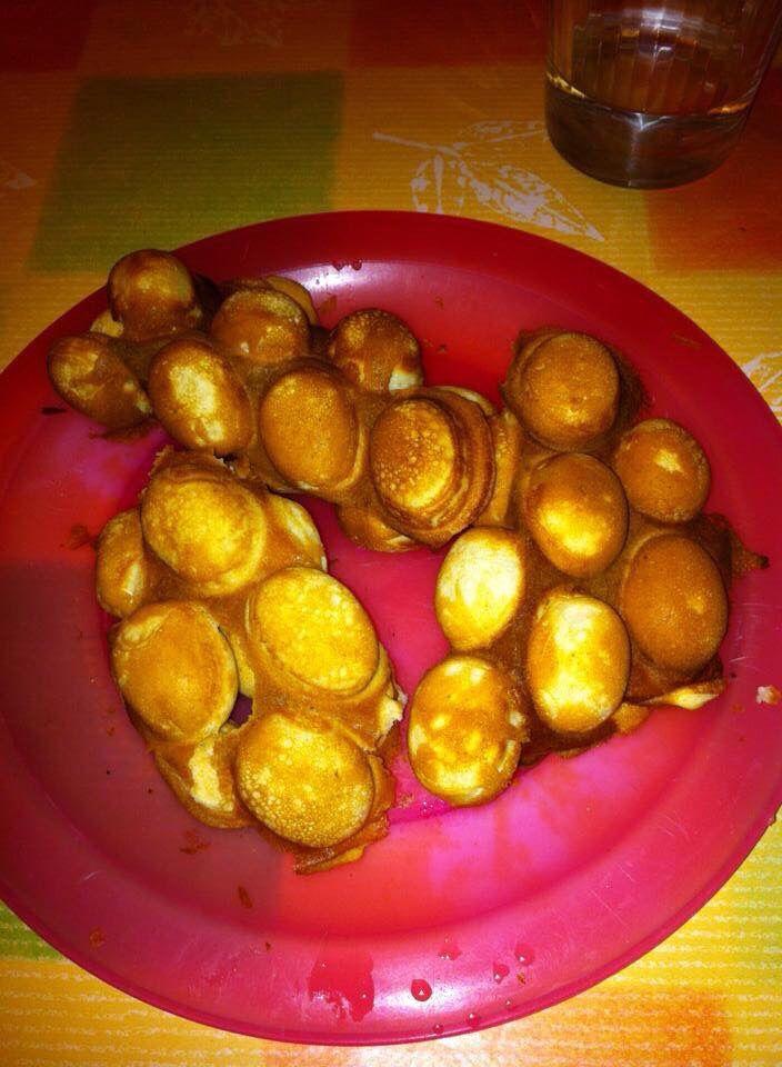 Chinese egg waffles