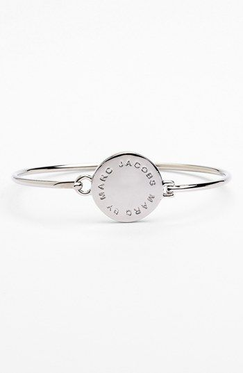 MARC BY MARC JACOBS 'Classic Marc' Disc Skinny Bangle available at #Nordstrom