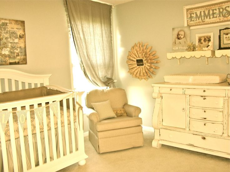 Vintage-inspired #babygirl #nurseryNursery Ideas, Future Baby, Baby Girls, Baby Room, Neutral Nurseries, Vintage Nurseries, Nurseries Ideas, Baby Stuff, Baby Nurseries