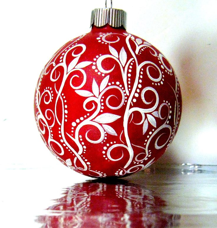 Best painted glass ornament images on pinterest