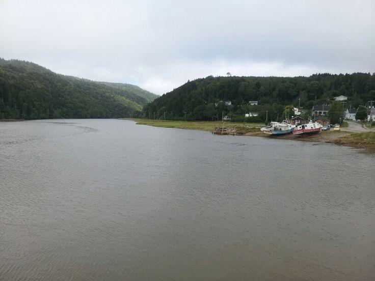 Alma, NB - high tide