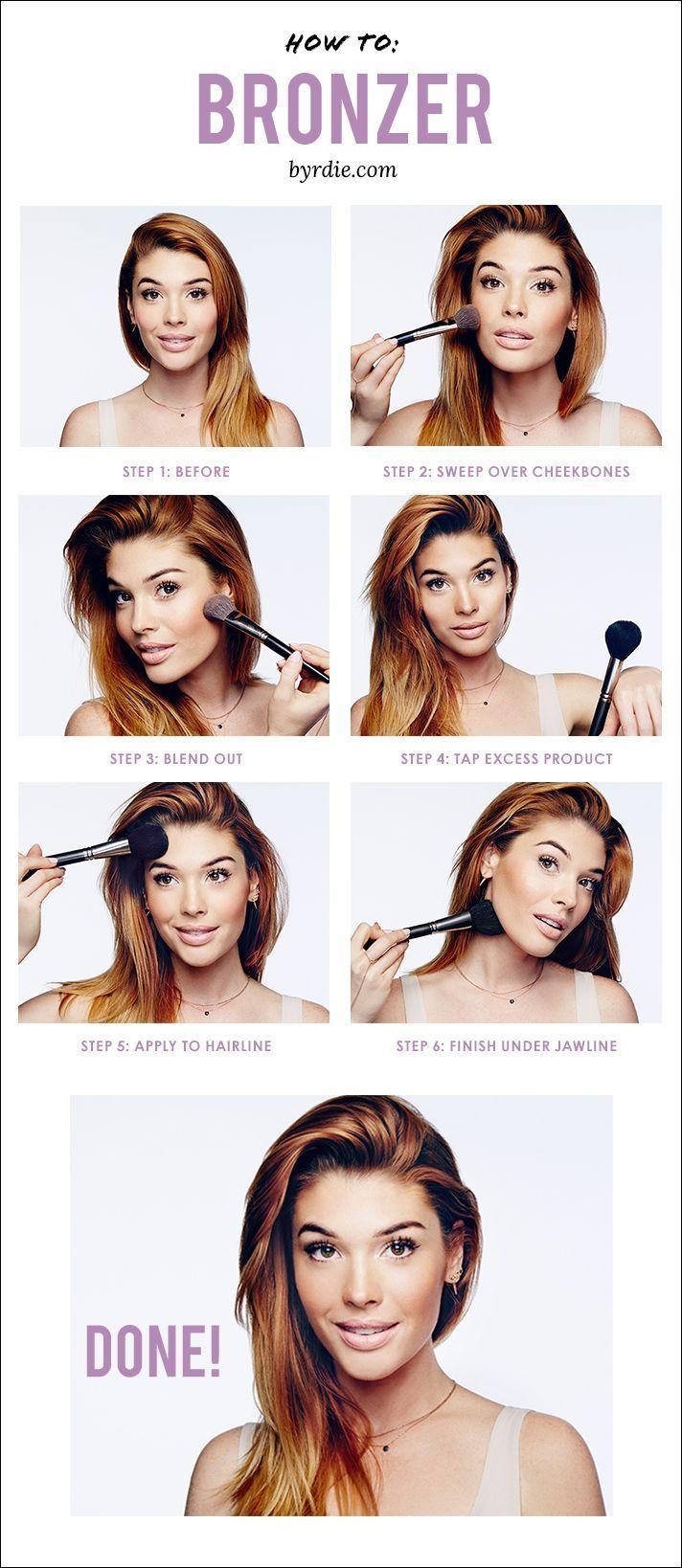The Best Way To Apply Bronzer: Tips And #tutorial From Celebrity Makeup  Artist Lauren