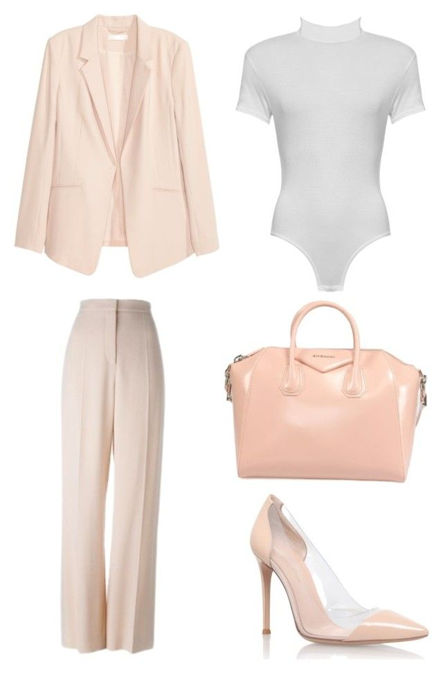 """""""Make me blush"""" by shanisiavniel on Polyvore featuring mode, STELLA McCARTNEY, WearAll, Gianvito Rossi en Givenchy"""