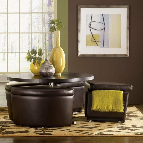 Best 25 table basse avec pouf ideas on pinterest table basse pouf pouf po - Table basse avec pouf ...