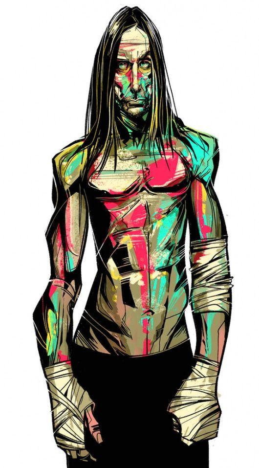 Illustrations by César Moreno | Inspiration Grid | Design Inspiration