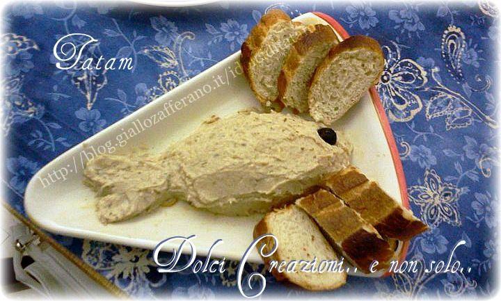 Spuma+di+Tonno+con+Crostini,+ricetta+facile+e+sfiziosa