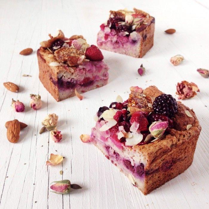 Bruisende Bosvruchten Bites - Oh My Pie!, gebruik glutenvrije producten.