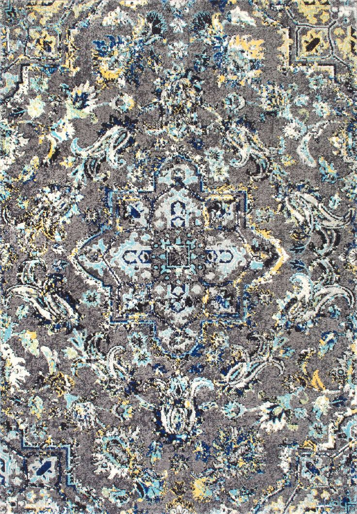 The 100% durable polypropylene, machine made indoor rug gives a splash of warmth to your décor. The paisley pattern brings in a sense of retro and traditional flair, while the durable pile is perfect for any home.