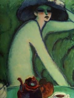"""""""L' Heure Du Thé""""  Oleo. 1935. Jean- Pierre Cassigneu"""