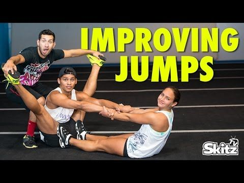 How To Improve Your Jumps In Cheerleading / Dance! - Stretches, Exercises, Drills, Conditioning - YouTube