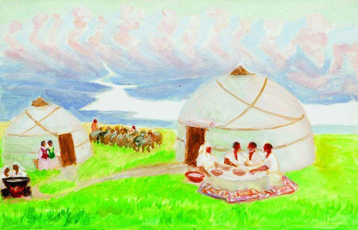 Картинки на джайляу для детей