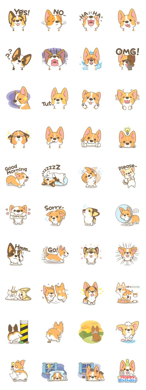 #collection #lineme #corgi #pon #mei #by