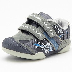 Danny Infant Casual Shoes - Charcoal