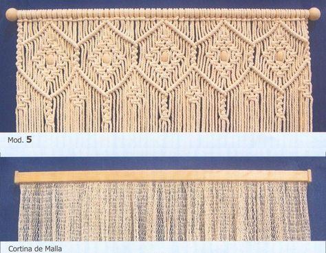 BricoValle - catalogo Hamacamundi - cortinas de macramé
