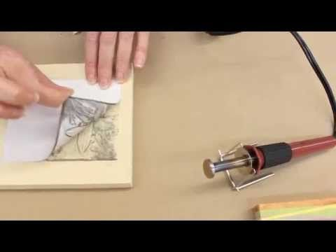 Crankin' Out Crafts -ep433 (learn how to) Wood Burning: Image Transfer