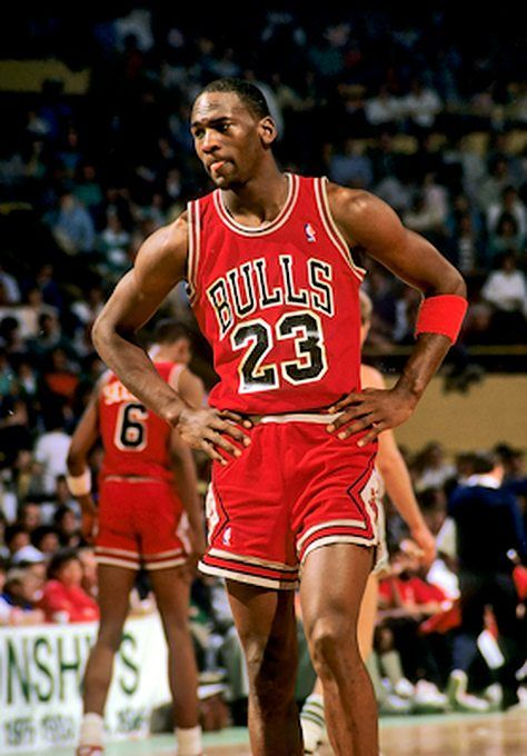 Michael Jordan Pictures: MJ playing for the Bulls in 1987.