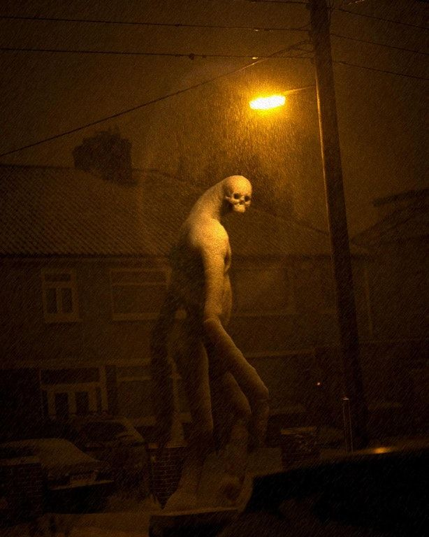 Beast from the East - from the recent snowstorm that passed thru Ireland : creepy