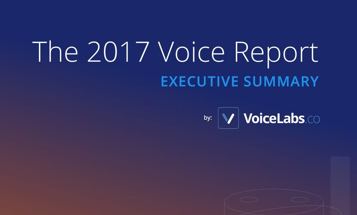 2017 Voice Report by VoiceLabs #amazonecho #googlehome