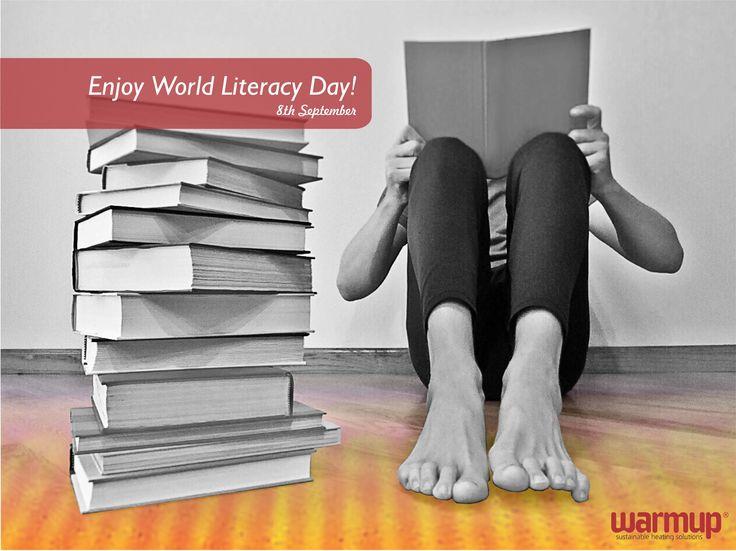 The whole world opened to me when I learned to read - Mary Mcleod Bethune #literacyday #internationalliteracyday #warmupsa #warmupyourfeet #nomoresocks