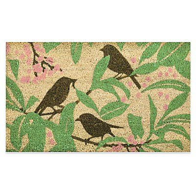 Exceptional Decorative Coir Mat Without Rubber Frame   Birdbath   Improvements By  Improvements. $9.98. This Clever Outdoor Doormat Allows You To Change The  Look Easily.