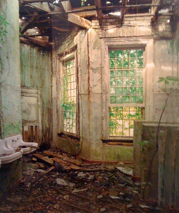 Central State Hospital Milledgeville GA bathroom