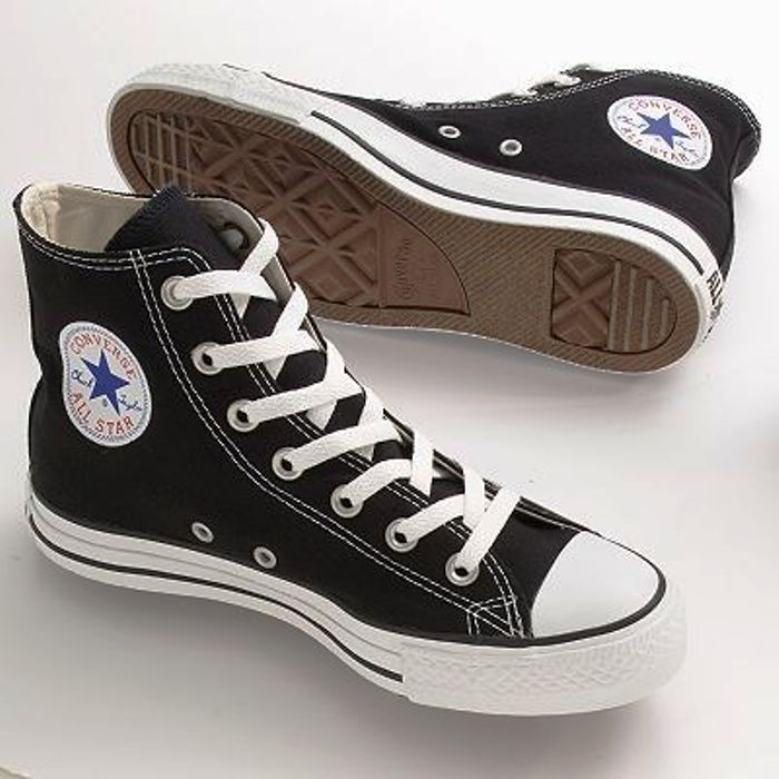 5dcdf1b0b26 Black Converse Worn Bought gem from another posher Just didn t fit (For  real pics