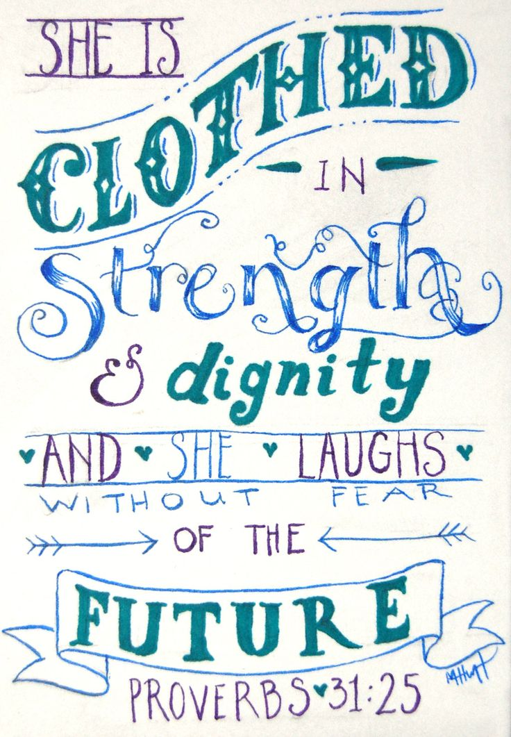 Proverbs 31:25 by Lamorien.deviantart.com on @deviantART
