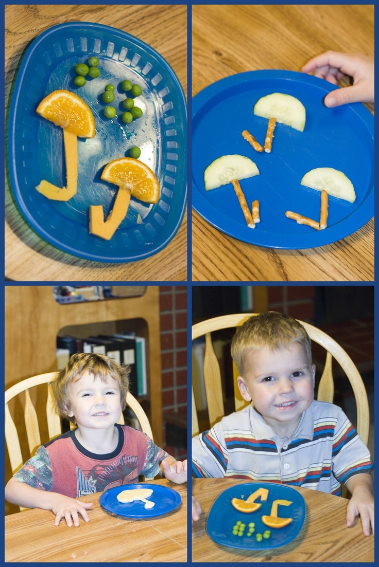 Mommy Lessons 101: U is for Umbrella snacks