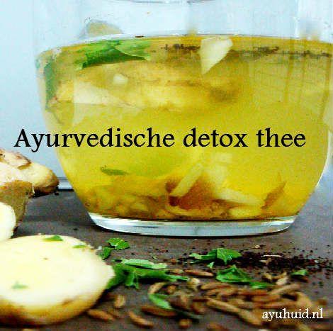 Waarom een Ayurvedische detox thee drinken? Het is een combinatie van groene thee, venkelzaad, korianderzaad, komijnzaad en verse gember Hoe maak je het?