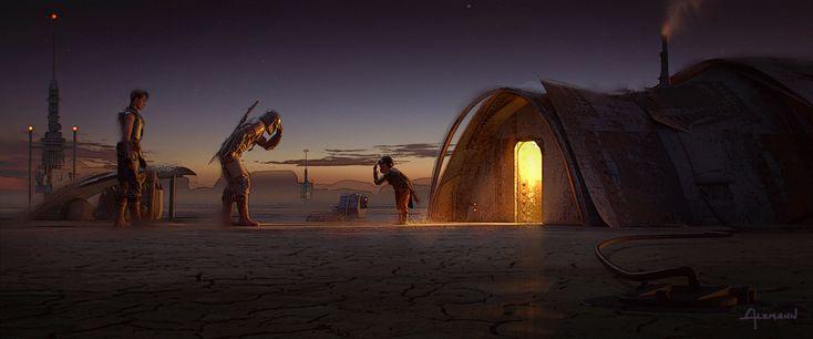 Star wars concept art mandalorian star wars