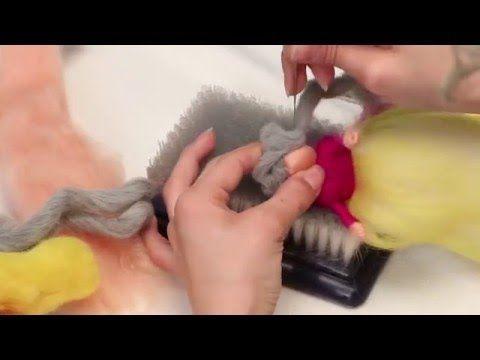 Yün Keçe ile Peri Kızı Yapımı - YouTube
