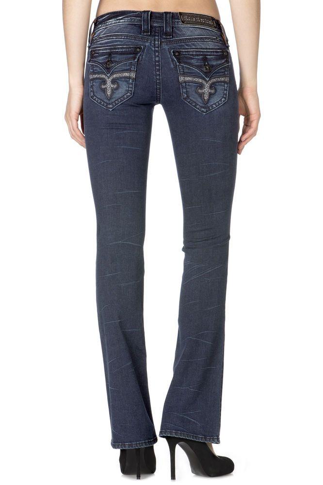 Rock Revival Size 24 Sora Boot Cut Jeans RJ8266B29 NWT Retail $154. #RockRevival #BootCut