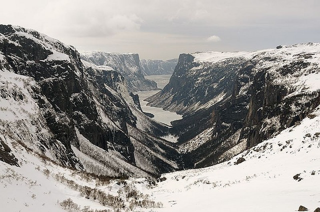 Western Brook Gorge, Grose Morne Park