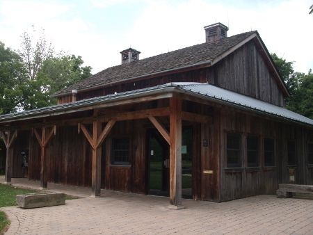 The Carriage Barn at Mill Hollow Metropark in Vermilion, Ohio