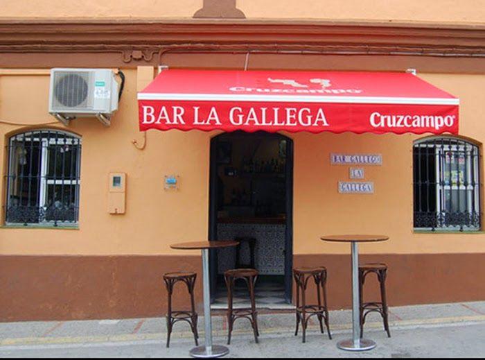 """CADIZ""""X""""ESTAPA: BAR LA GALLEGA (San Fernando)"""