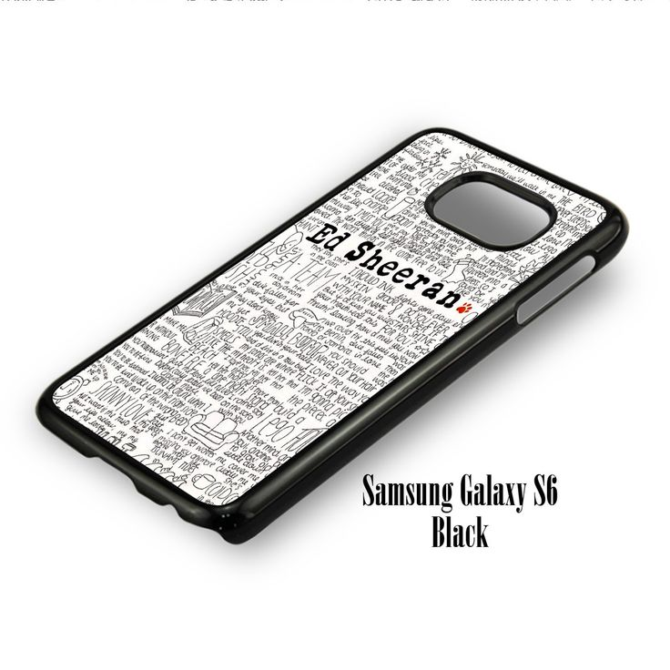 Ed Sheeran for Samsung Galaxy S6, Samsung Galaxy S6 Edge Case