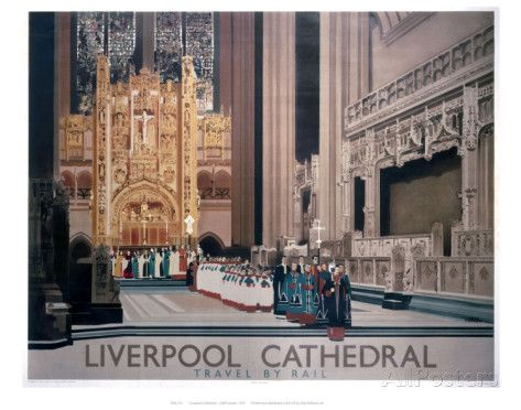 Liverpool Cathedral II Art - AllPosters.co.uk