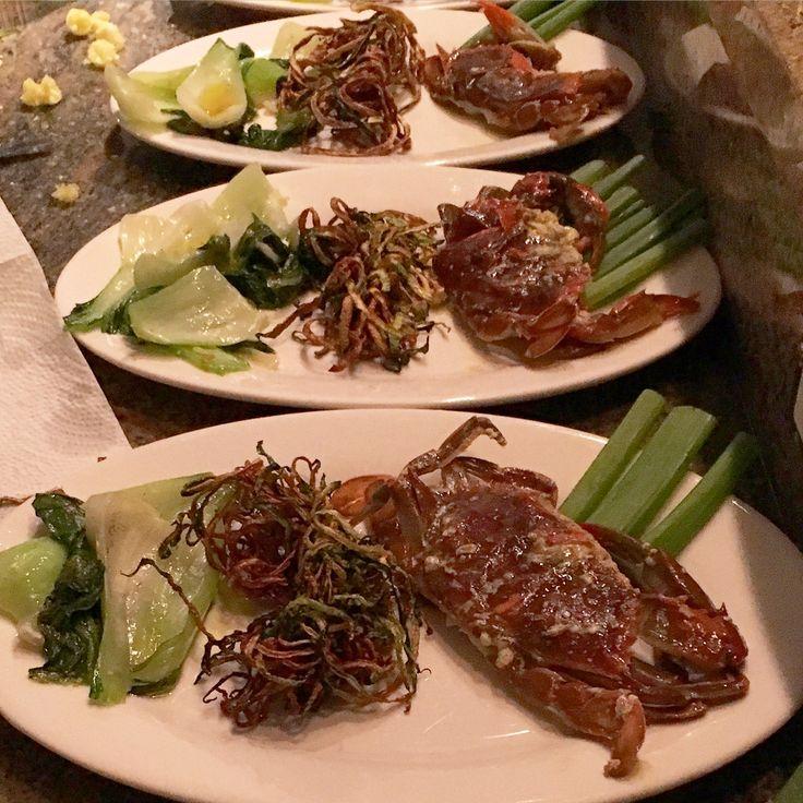 Softshell Crab with Zucchine and Pak Choi