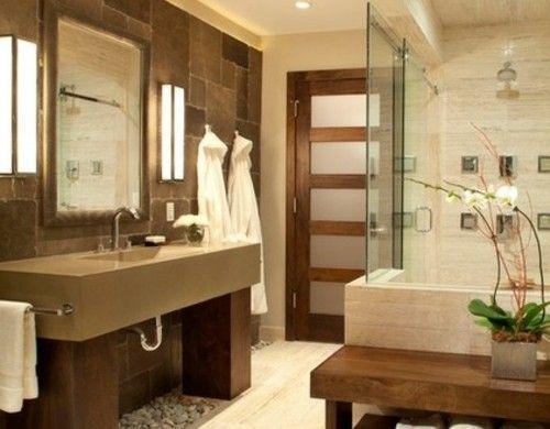 Die besten 25+ Zen Badezimmer Dekor Ideen auf Pinterest Zen - das moderne badezimmer typische dinge