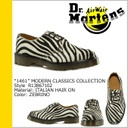 3 doctor Martin /Dr.Martens ホールューズ [1461 MODERN CLASSICS COLLECTION R13867102] zebra Italian hair on [man and woman combined use] boots ZEBRINO ITALIAN HAIR ON UK [will take its ease tomorrow] [regular article]