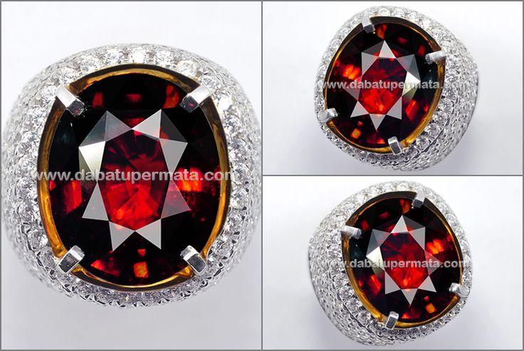 Natural No Heat Elegant GARNET Top Crystal (RGR 021)