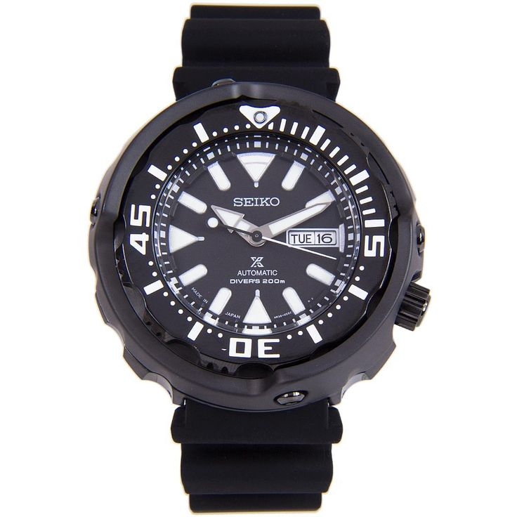 A-Watches.com - Seiko Japan SRPA81J SRPA81 Prospex Mechanical Rotating Bezel Black Silicone Bracelet Divers Mens Watch, $367.00 (https://www.a-watches.com/seiko-japan-srpa81j-srpa81-prospex-mechanical-rotating-bezel-black-silicone-bracelet-divers-mens-watch/)
