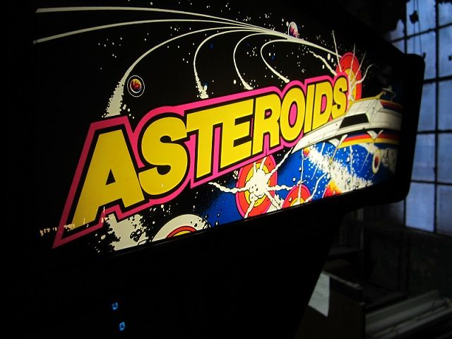 Asteroids Video Arcade.marquee.
