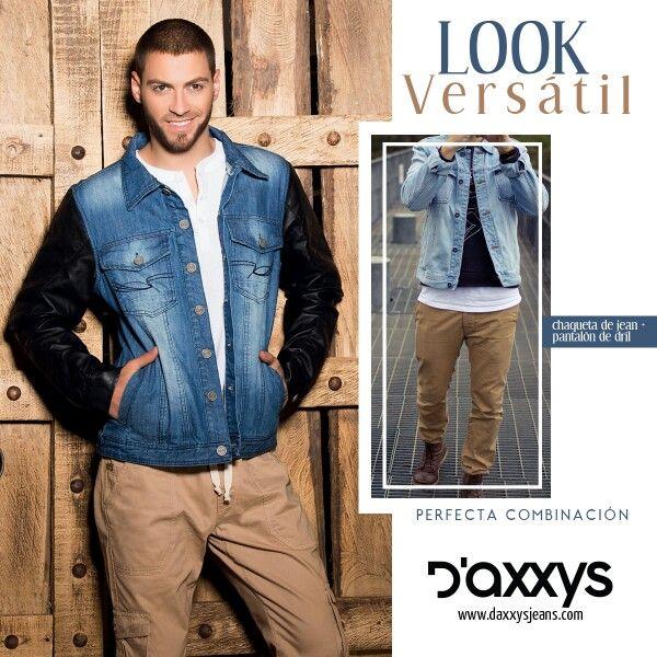 #ParaEllos la chaqueta Monaco resaltará la versatilidad al momento de vestirse. Hecha en 100% en algodón y sintético.
