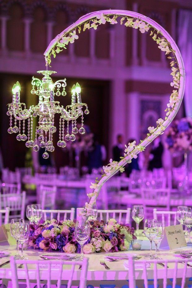 Reception Decor Real Wedding Dubai Weddingdecoration