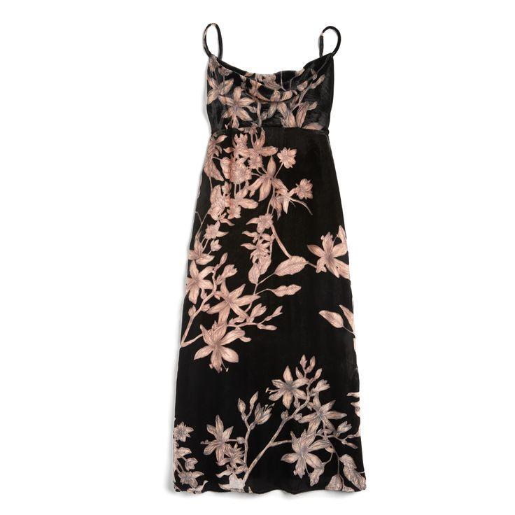 Stitch Fix Fall Stylist Picks: Floral midi slipdress