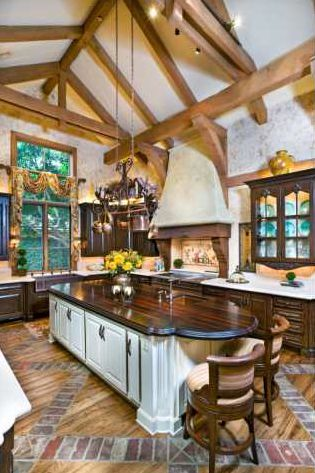 French country kitchen AAAAHHHHHH ITS SO PRETTY!!!!