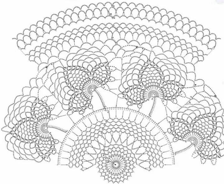1041 best Doilies♡Advanced♡Patterns images on Pinterest | Crochet ...