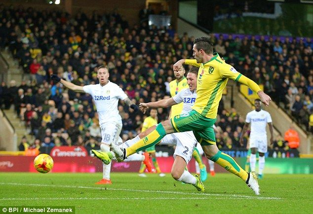 Kyle Lafferty struck to equalise for the Canaries in the second half