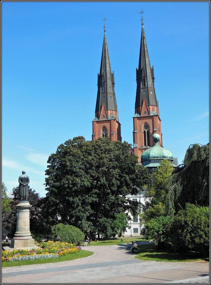 Uppsala Domkyrka - Uppsala, Uppland
